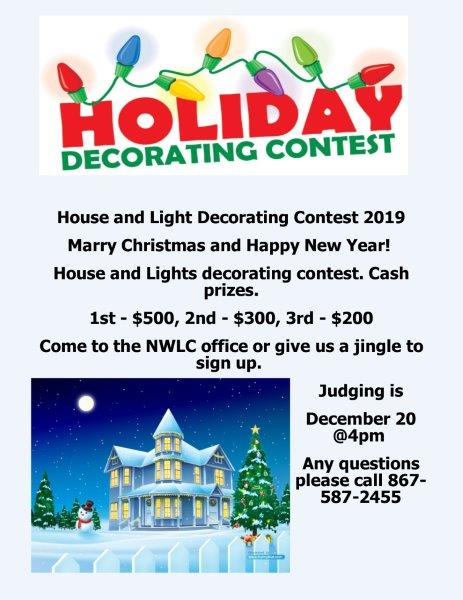 Decorating Contest December 2019