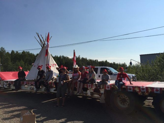 Canada Day Float 2