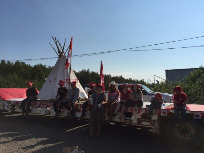 Canada Day Float 3 2015